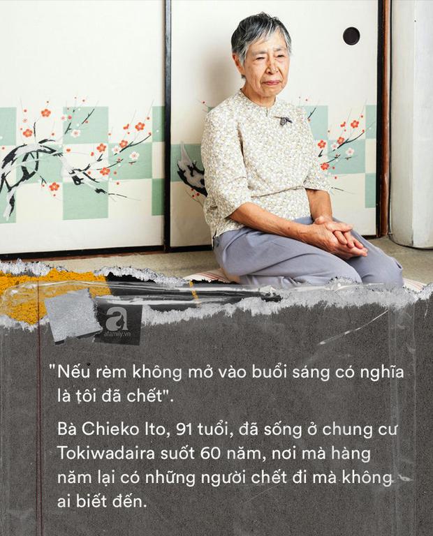 Nỗi sợ bao trùm người già ở Nhật Bản: Những cái chết cô đơn không ai biết, thi thể nằm đó bốc mùi chẳng ai hay - Ảnh 7.