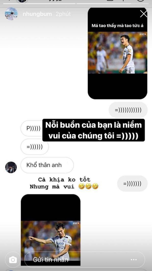 Mất chiến thắng trước Nam Định FC, Văn Toàn còn bị bạn gái troll không trượt phát nào - Ảnh 1.