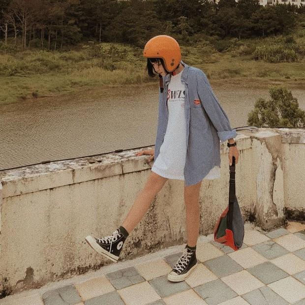 #kenh14streetstyle: Tuyển tập bí kíp diện đồ suông rộng siêu cool mà vẫn nịnh dáng ăn hình - Ảnh 10.