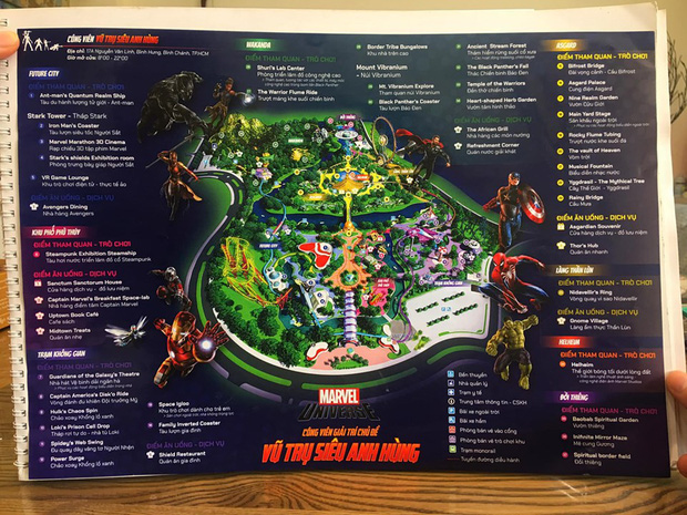 Fan vũ trụ điện ảnh Marvel vào đây mà xem: Quá mê siêu anh hùng, nam sinh làm hẳn mô hình công viên giải trí chủ để làm luận án tốt nghiệp! - Ảnh 7.
