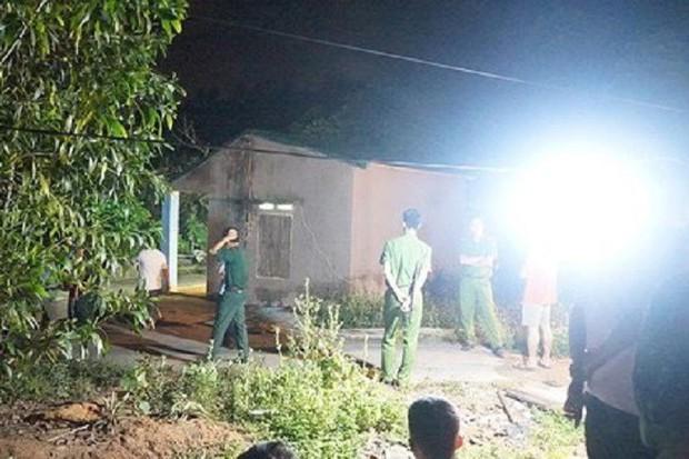 Truy bắt nghịch tử sát hại bố và anh vợ ở Quảng Ninh - Ảnh 1.