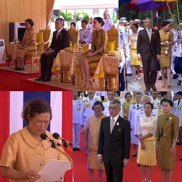 Trước khi lập Thứ phi, Hoàng hậu Thái Lan vẫn ân cần chăm sóc chồng một cách tinh tế, khẳng định vị trí vợ cả của mình - Ảnh 2.