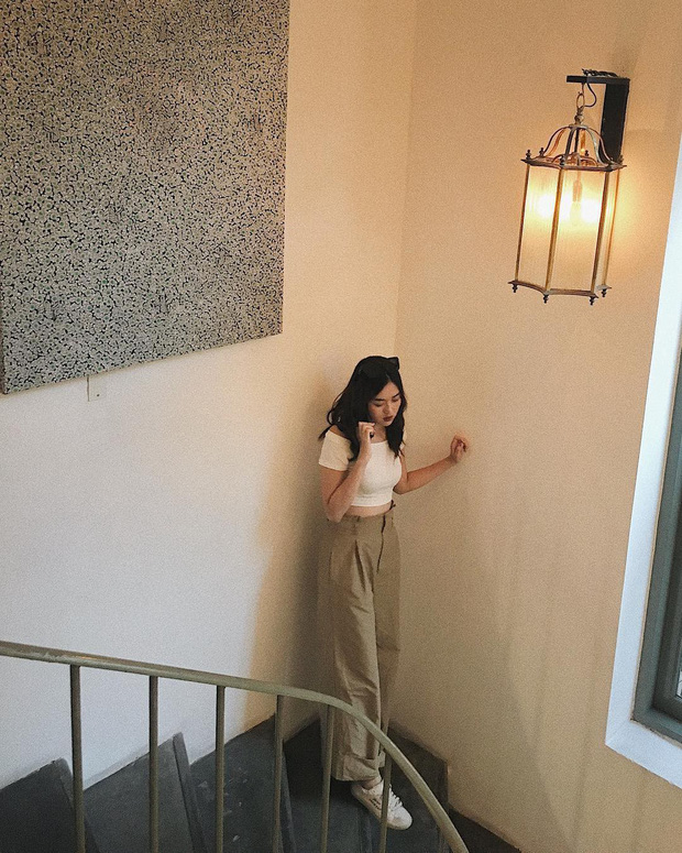Nàng Á hậu được ví là bản sao của Hà Tăng: Style chỉ toàn màu đen - trắng nhưng sang chảnh như tiểu thư trâm anh thế phiệt - Ảnh 11.