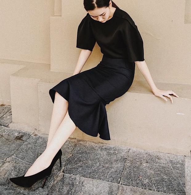 Nàng Á hậu được ví là bản sao của Hà Tăng: Style chỉ toàn màu đen - trắng nhưng sang chảnh như tiểu thư trâm anh thế phiệt - Ảnh 13.