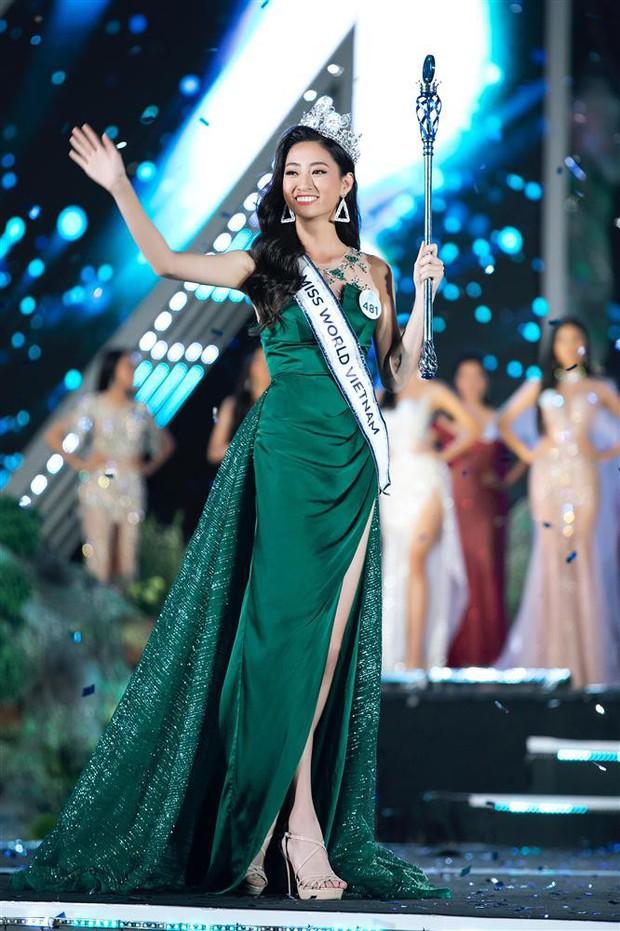 NTK váy dạ hội của Tân Hoa hậu Miss World Việt Nam 2019: Riêng đồ dạ hội, tôi hỗ trợ Linh và chỉ lấy tiền giặt là - Ảnh 3.