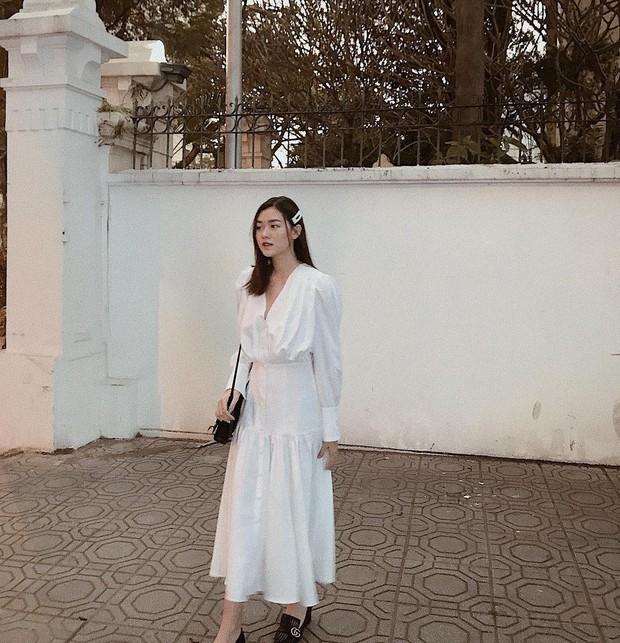 Nàng Á hậu được ví là bản sao của Hà Tăng: Style chỉ toàn màu đen - trắng nhưng sang chảnh như tiểu thư trâm anh thế phiệt - Ảnh 5.