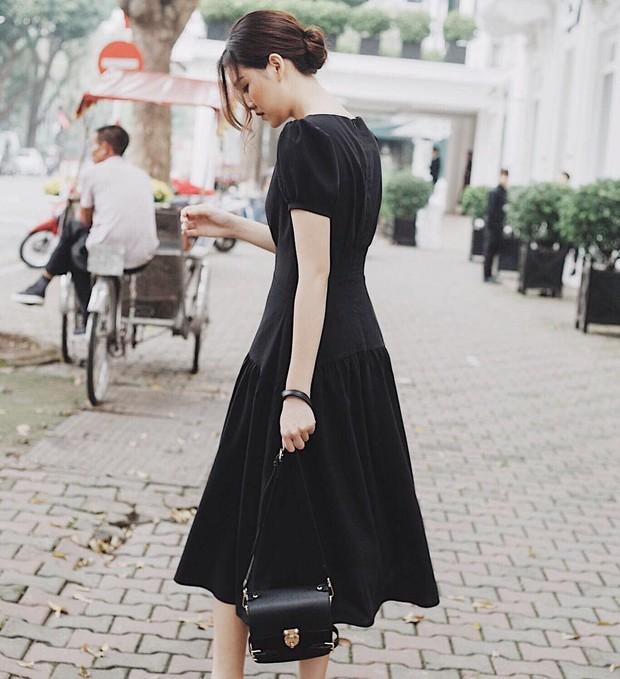 Nàng Á hậu được ví là bản sao của Hà Tăng: Style chỉ toàn màu đen - trắng nhưng sang chảnh như tiểu thư trâm anh thế phiệt - Ảnh 6.