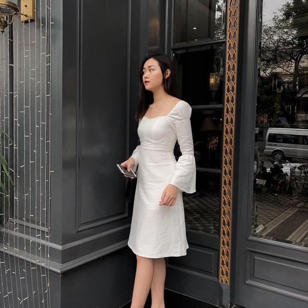 Nàng Á hậu được ví là bản sao của Hà Tăng: Style chỉ toàn màu đen - trắng nhưng sang chảnh như tiểu thư trâm anh thế phiệt - Ảnh 7.