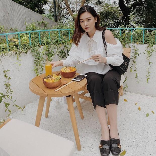 Nàng Á hậu được ví là bản sao của Hà Tăng: Style chỉ toàn màu đen - trắng nhưng sang chảnh như tiểu thư trâm anh thế phiệt - Ảnh 9.