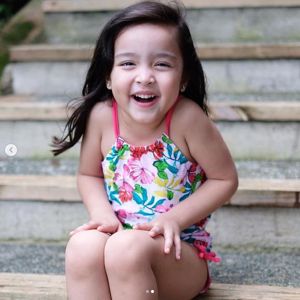 Lâu mới thấy ảnh cận cảnh của con gái mỹ nhân đẹp nhất Philippines: Nữ thần tương lai là đây chứ đâu! - Ảnh 2.