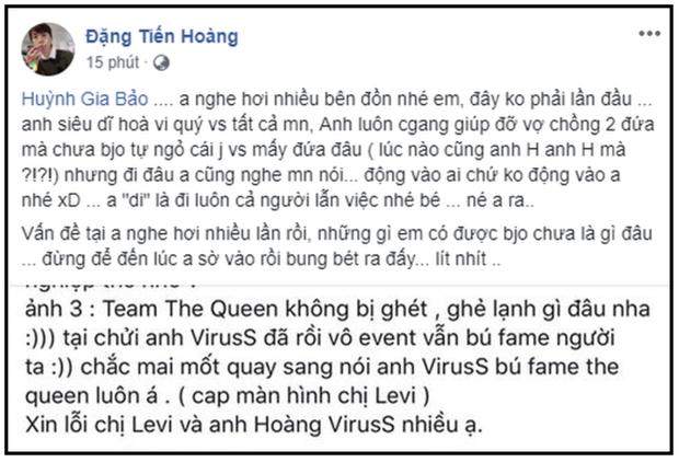 Toàn cảnh drama The Queen Team: Lùm xùm của dàn nữ streamer hot nhất làng game Việt khiến Ohsusu, ViruSs cũng bị lôi vào cuộc chiến - Ảnh 10.