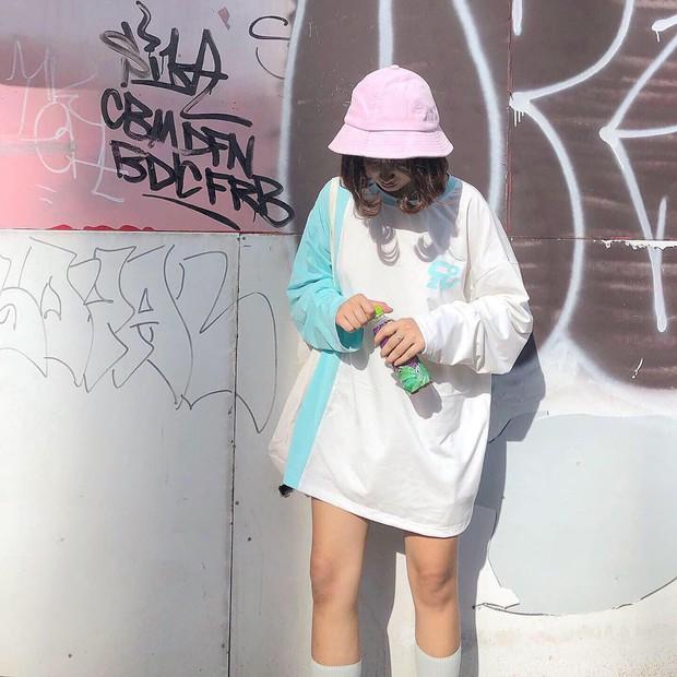 #kenh14streetstyle: Tuyển tập bí kíp diện đồ suông rộng siêu cool mà vẫn nịnh dáng ăn hình - Ảnh 8.