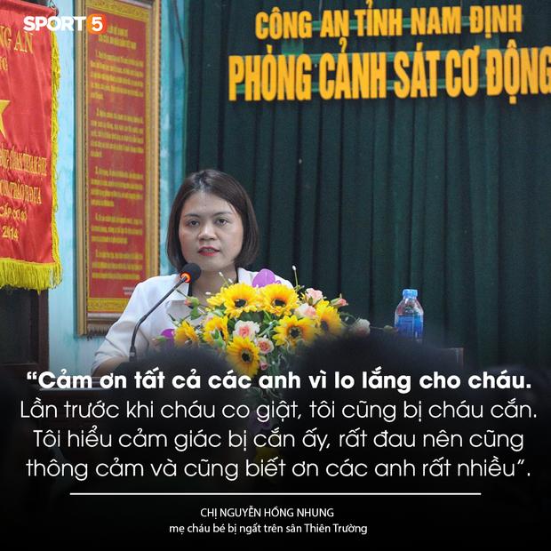 Khen thưởng các chiến sĩ cảnh sát sơ cứu fan nhí bị co giật ở Nam Định - Ảnh 3.