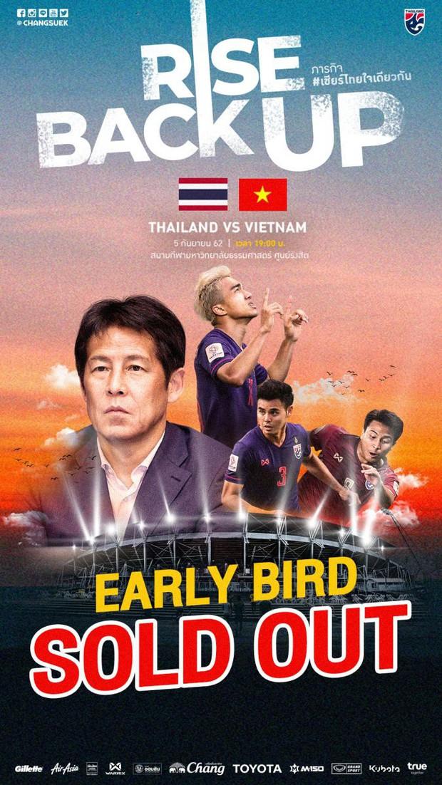 Vé xem tuyển Việt Nam đấu Thái Lan hết sạch trong 15 phút, fan Việt bình thản vì lý do này - Ảnh 2.