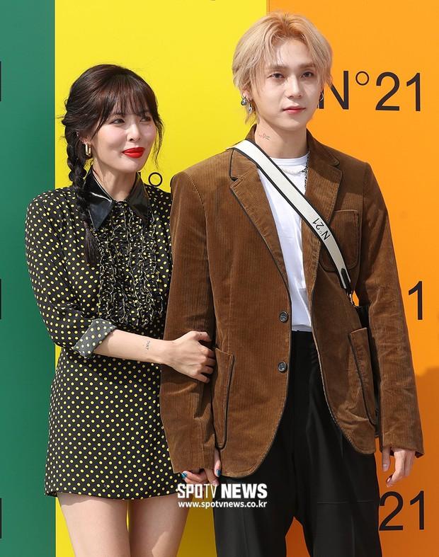 Giữa loạt scandal hẹn hò, cặp con ghẻ Hyuna và EDawn bỗng nhận cơn mưa lời khen vì tình như phim tại sự kiện - Ảnh 8.