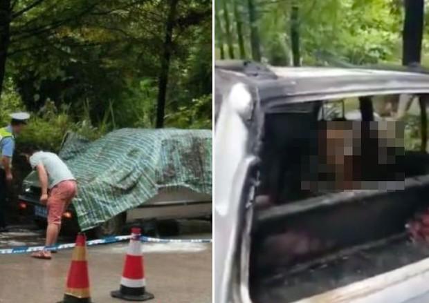Để cháu trai lại trong xe ô tô rồi khoá cửa, ông nội đau đớn chứng kiến hai đứa trẻ chết cháy mà không thể cứu được - Ảnh 1.