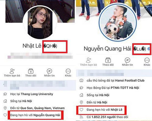 Nhật Lê và Quang Hải đồng loạt bỏ tên phụ liên quan đến người kia trên Facebook: Khẳng định không còn liên quan đến nhau? - Ảnh 2.