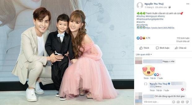 Thu Thủy bất ngờ gỡ ảnh bìa gia đình hạnh phúc, xóa avatar bên Kin Nguyễn giữa ồn ào con trai ruột bị chồng trẻ ngược đãi - Ảnh 2.