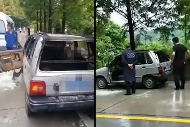 Để cháu trai lại trong xe ô tô rồi khoá cửa, ông nội đau đớn chứng kiến hai đứa trẻ chết cháy mà không thể cứu được - Ảnh 2.