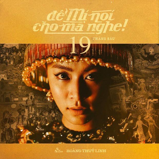 Quá nhanh quá nguy hiểm, Hoàng Thuỳ Linh đánh úp nhá hàng MV mới, đưa tín ngưỡng thờ Mẫu vào nhạc mainstream? - Ảnh 3.