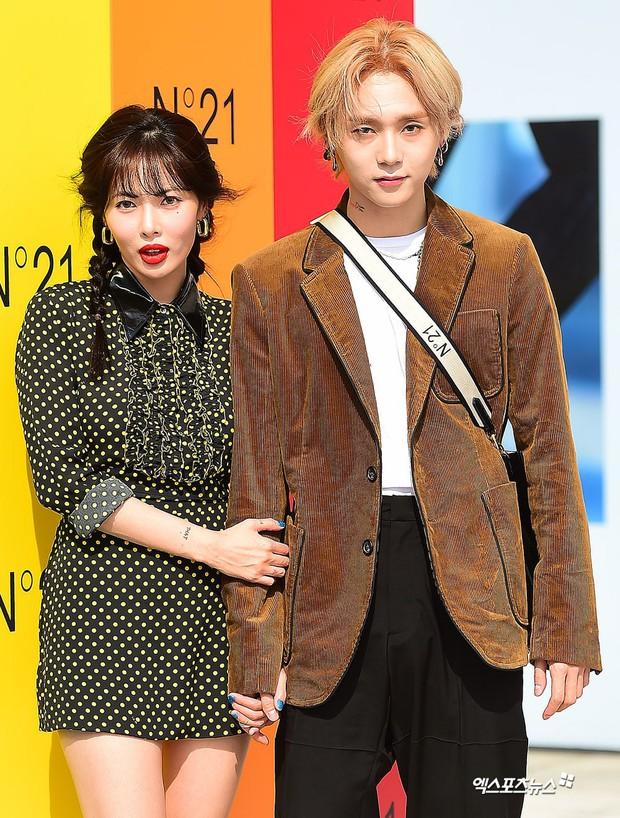Giữa loạt scandal hẹn hò, cặp con ghẻ Hyuna và EDawn bỗng nhận cơn mưa lời khen vì tình như phim tại sự kiện - Ảnh 7.