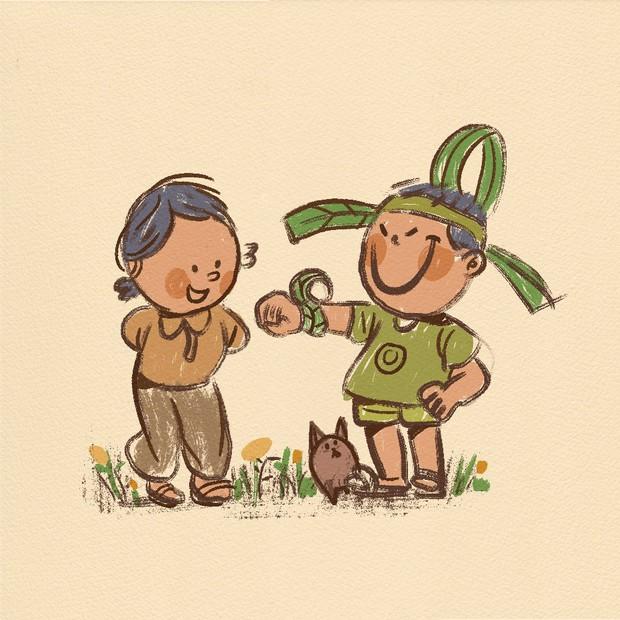 Lục tìm những mảnh ghép tuổi thơ đầy màu sắc của 8x 9x để thấy rằng được vui chơi lấm bẩn là cả một món quà quý giá! - Ảnh 4.