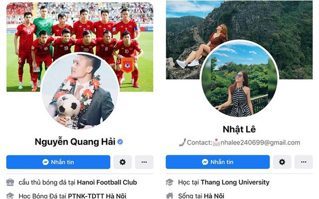 Nhật Lê và Quang Hải đồng loạt bỏ tên phụ liên quan đến người kia trên Facebook: Khẳng định không còn liên quan đến nhau? - Ảnh 3.