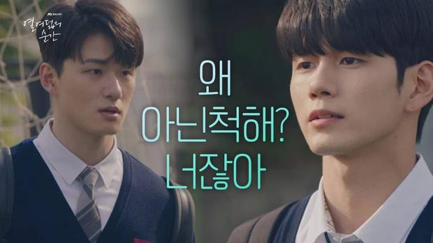 Được yêu thích ở A-Teen, Shin Seung Ho đã hóa lớp trưởng chuyên hãm hại Ong Seung Woo ở Khoảnh Khắc Tuổi 18 - Ảnh 5.