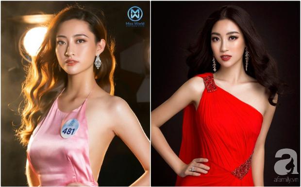 Makeup và làm tóc giống nhau: Top 3 Miss World Việt Nam thành bản sao của loạt mỹ nhân Việt đình đám - Ảnh 1.
