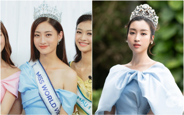 Makeup và làm tóc giống nhau: Top 3 Miss World Việt Nam thành bản sao của loạt mỹ nhân Việt đình đám - Ảnh 3.