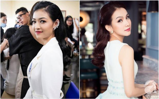 Makeup và làm tóc giống nhau: Top 3 Miss World Việt Nam thành bản sao của loạt mỹ nhân Việt đình đám - Ảnh 6.