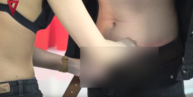 Khán giả shock khi xem lại loạt khoảnh khắc phản cảm của chồng Thu Thủy với bạn gái cũ trong show thực tế 18+ - Ảnh 11.