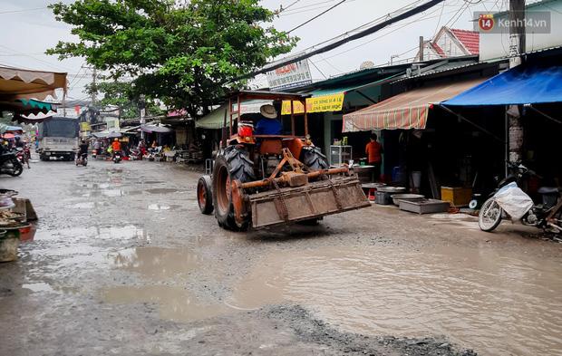 Nhìn từ trên cao con đường lầy lội nhất Sài Gòn: Gần 100 ao nước lớn nối tiếp nhau hơn 2km - Ảnh 6.