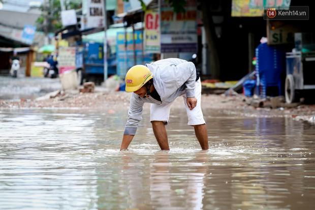 Nhìn từ trên cao con đường lầy lội nhất Sài Gòn: Gần 100 ao nước lớn nối tiếp nhau hơn 2km - Ảnh 13.