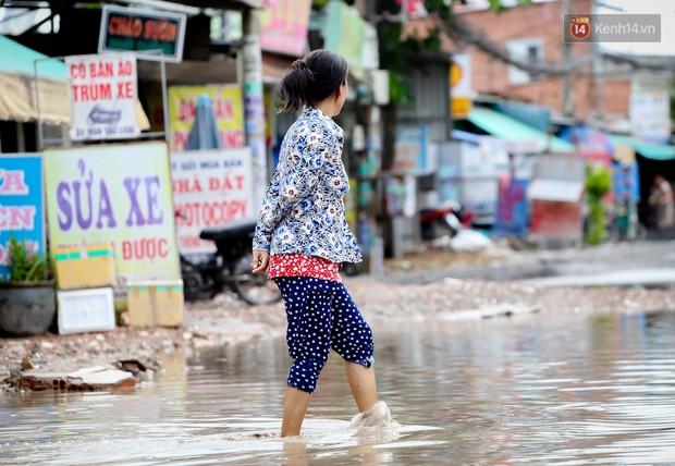 Nhìn từ trên cao con đường lầy lội nhất Sài Gòn: Gần 100 ao nước lớn nối tiếp nhau hơn 2km - Ảnh 15.