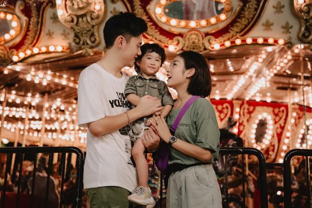 Chia sẻ ảnh đi du lịch Đà Nẵng, gia đình Tùng Sơn - Trang Lou khiến netizen xuýt xoa vì bé Xoài quá dễ cưng - Ảnh 14.