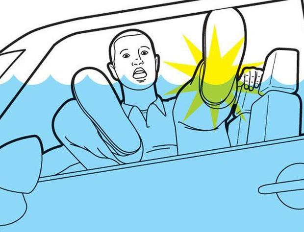 Những kỹ năng thoát hiểm khi bị nhốt trong ô tô mà mọi phụ huynh phải dạy con thật kỹ - Ảnh 10.
