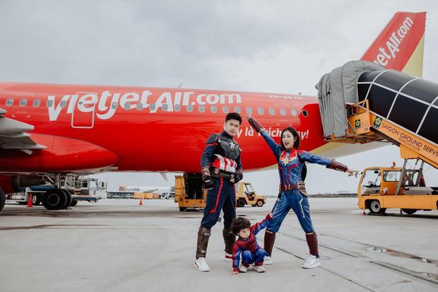 Chia sẻ ảnh đi du lịch Đà Nẵng, gia đình Tùng Sơn - Trang Lou khiến netizen xuýt xoa vì bé Xoài quá dễ cưng - Ảnh 4.