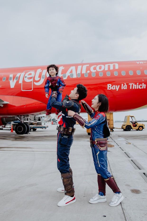 Chia sẻ ảnh đi du lịch Đà Nẵng, gia đình Tùng Sơn - Trang Lou khiến netizen xuýt xoa vì bé Xoài quá dễ cưng - Ảnh 5.