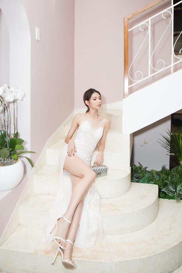 Lan Khuê khoe dáng mỏng những tháng cuối thai kỳ, Kỳ Duyên - Jolie Nguyễn đụng độ tại sự kiện - Ảnh 9.