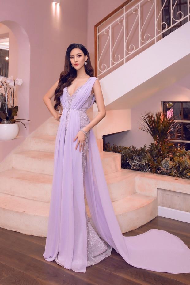 Lan Khuê khoe dáng mỏng những tháng cuối thai kỳ, Kỳ Duyên - Jolie Nguyễn đụng độ tại sự kiện - Ảnh 2.