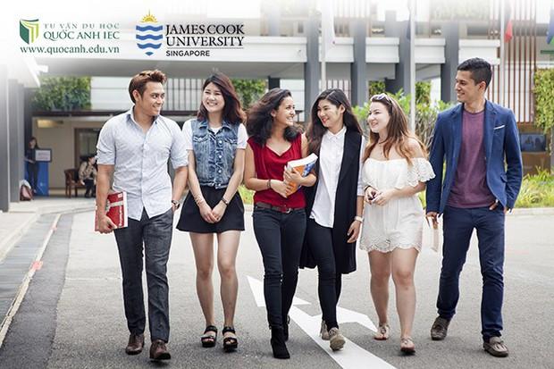 Hội thảo học bổng Đại học James Cook Singapore năm 2019 - Ảnh 1.