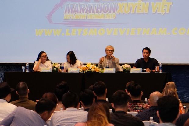 Diệp Lâm Anh vác bụng bầu tham gia show Marathon với Song Luân, Khả Ngân, Thu Hiền... - Ảnh 1.