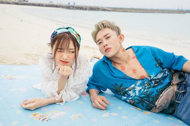 Vừa tung teaser come back đã lại thấy sự lầy lội của Han Sara, thản nhiên vẽ vời lên body Kay Trần - Ảnh 5.
