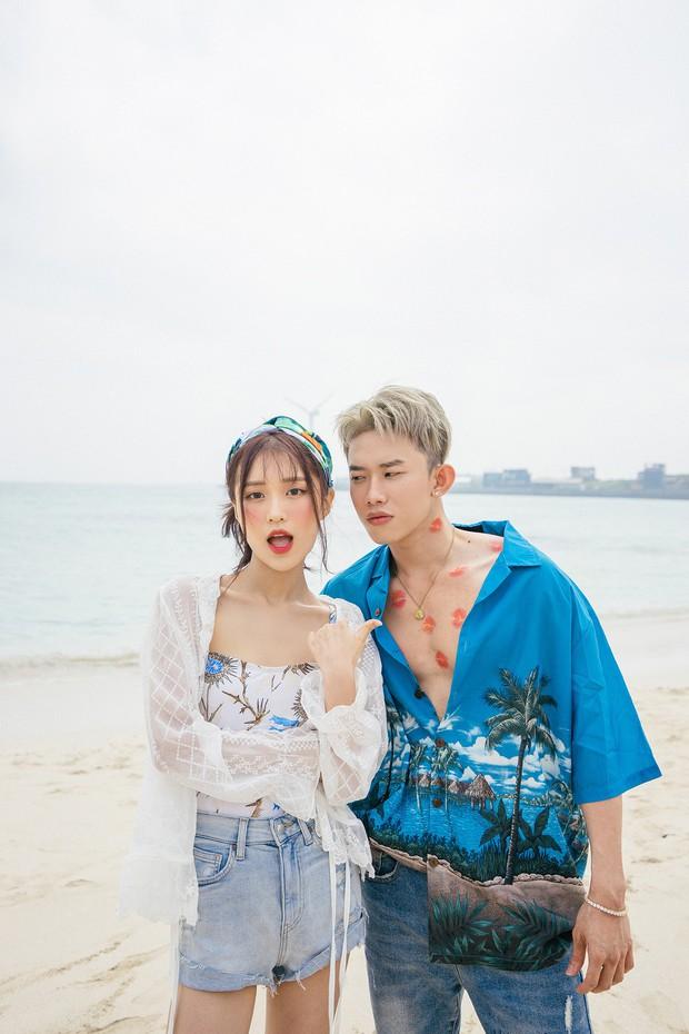 Vừa tung teaser come back đã lại thấy sự lầy lội của Han Sara, thản nhiên vẽ vời lên body Kay Trần - Ảnh 2.