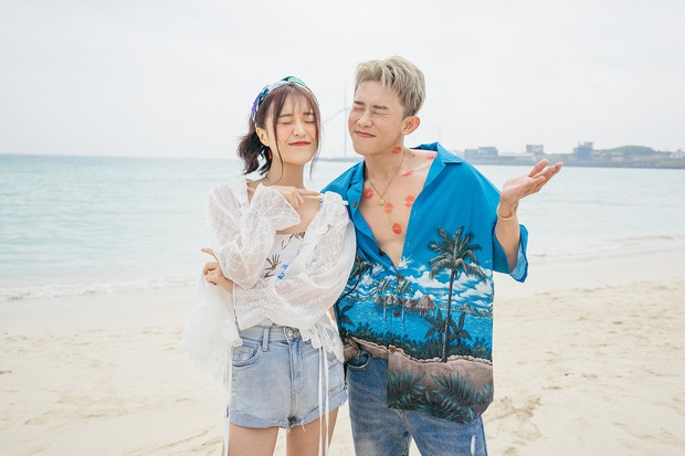 Vừa tung teaser come back đã lại thấy sự lầy lội của Han Sara, thản nhiên vẽ vời lên body Kay Trần - Ảnh 3.