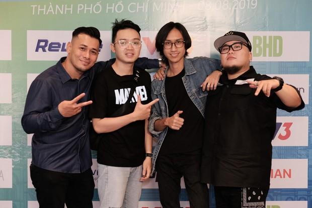 Diệp Lâm Anh vác bụng bầu tham gia show Marathon với Song Luân, Khả Ngân, Thu Hiền... - Ảnh 8.