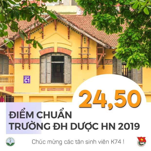 Điểm chuẩn Đại học Dược Hà Nội năm 2019 là 24,5 điểm - Ảnh 1.