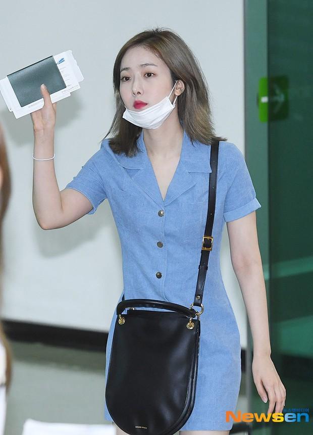 Nữ idol xấu nhất lịch sử Kpop một thời ngày càng xinh, ra sân bay sương sương mà lấn át cả chân dài G-Friend - Ảnh 8.