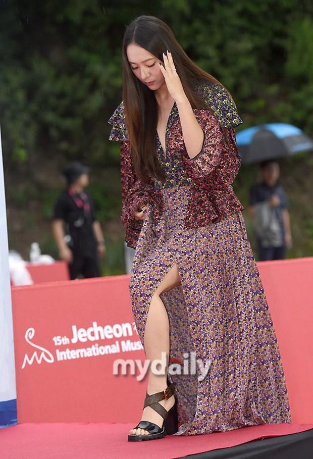 Thảm đỏ quy tụ dàn sao Hàn quyền lực: Yoon Eun Hye trở lại xuất sắc, Krystal đẹp ngút ngàn bất chấp đầm sến sẩm - Ảnh 6.